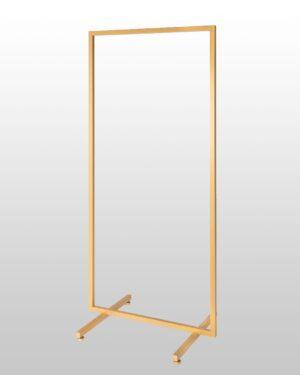 Stender Tubo Quadro cm.70 oro