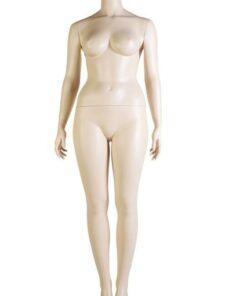 Silhouette Donna Taglie Comode Senza Testa KN