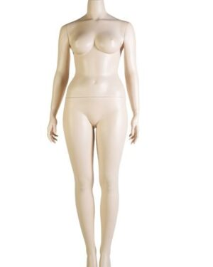 Silhouette plus Size Women Comfortable Without Head KN