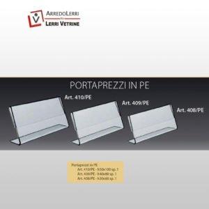 Portaprezzi Plexiglas-ART. 408/PE