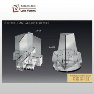 Portadepliant Multipli Girevoli