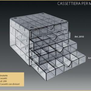 Cassettiera In Plex