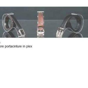 Espositore Porta Cinture in Plexiglass
