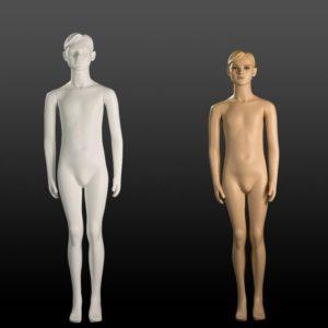 Manichini Bambino Stilizzato 14-16 Anni bianco/carne